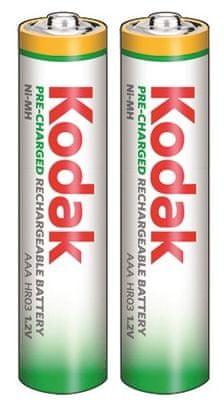 Kodak Rechargeable 650 mAh, AAA, 2ks