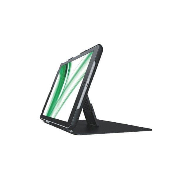 Multifunkční kryt se stojánkem 180° a přední pevnou deskou Leitz Complete pro iPad Air černý