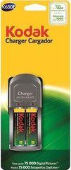 Kodak Charger Cargador + 2ks AA 2100 mAh