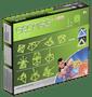 14 - Geomag Foszforeszkáló mágneses építőjáték, 30 db outlet