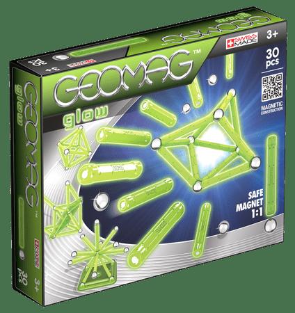 Geomag Foszforeszkáló mágneses építőjáték, 30 db outlet