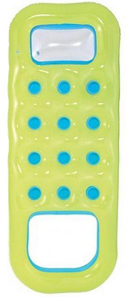 Bestway Nafukovací matrace s otvorem na nohy žluté