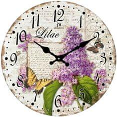 Lowell Designové nástěnné hodiny 14854
