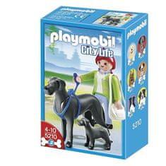 Playmobil 5210 Kutyasétáltatás-Dán dogok