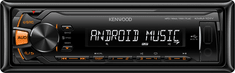 Kenwood Electronics KMM-101AY Autóhifi
