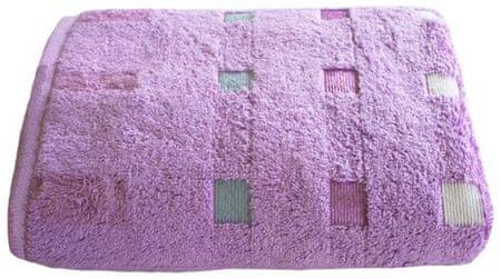 Framsohn ručnik Quattro, 50x100 cm, ljubičasti