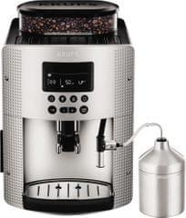 KRUPS EA815E Pisa S line Kávéfőző + Automata tejhabosító fej