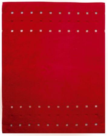 Framsohn preproga Quattro, 75 x 100 cm, rdeča