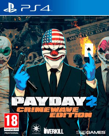 505 Gamestreet Payday 2 Crimewave Edition (PS4)