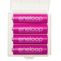Panasonic Eneloop baterije AA (4 kosi), roza