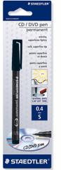 Staedtler flomaster Lumocolor CD/DVD, črn