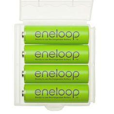 Panasonic Eneloop baterije AA (4 kosi), zelene