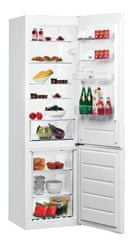 Whirlpool BLF 9121 W Kombinált hűtőszekrény, 369 L, A+