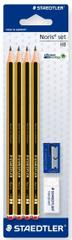 Staedtler svinčnik Noris, 4/1 + radirka + šilček