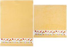 Framsohn Set kuchyňského ručníku a utěrky, flower