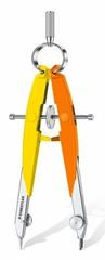 Staedtler šestilo 556 Neon, rumeno-oranžno