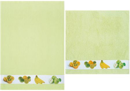 Framsohn kuhinjska brisača in krpa, sadje