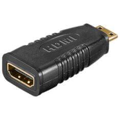 Goobay adapter HDMI A ženski -> HDMI C(Mini) moški
