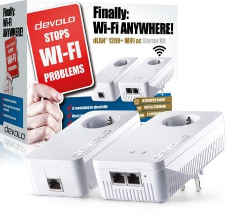 Devolo dLAN® 1200+ WiFi ac Starter Kit