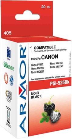 Armor PGi525BK pre tlačiarne Canon, čierny, 440 strán (K12560)