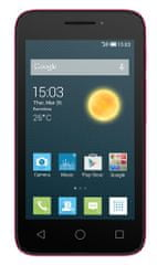 Alcatel One Touch 4013D PIXI 3 (4) , růžový