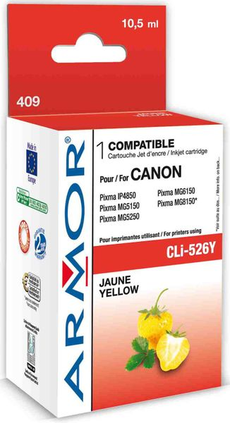 Armor CLI526Y pro tiskárny Canon, žlutý, 665 stran (K12564)