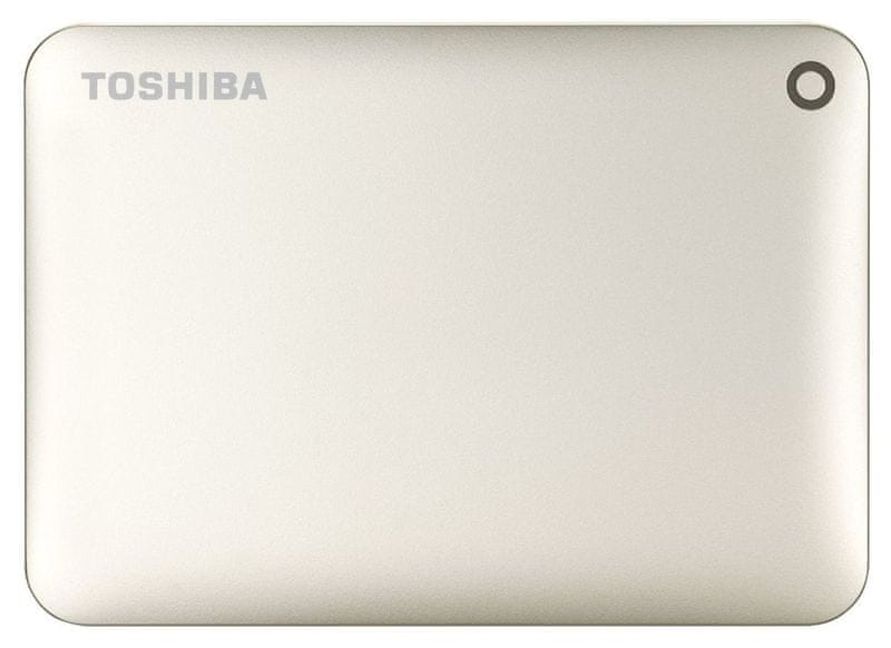 "TOSHIBA Canvio Connect II 500GB / Externí / USB 3.0 / 2,5"" / Gold (HDTC805EC3AA)"