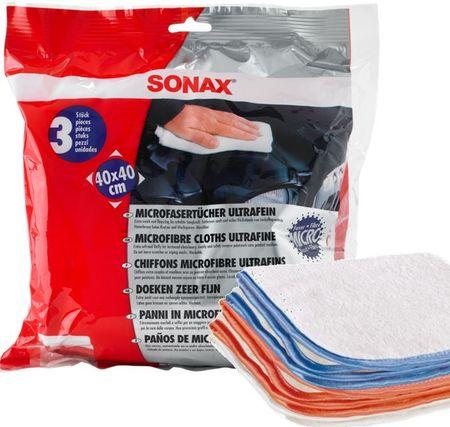 Sonax krpica iz mikrovlaken, posebno fina, 3 kosi
