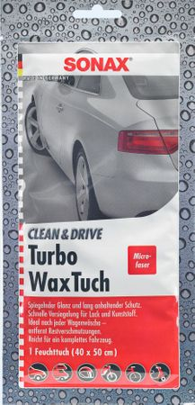 Sonax turbo krpa z voskom za zunanjost vozila