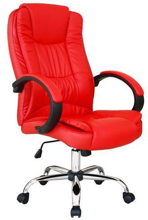Računalniški stol OC06, rdeč