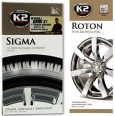 K2 set za čiščenje pnevmatik in platišč Wheel & Tyre Shine Set