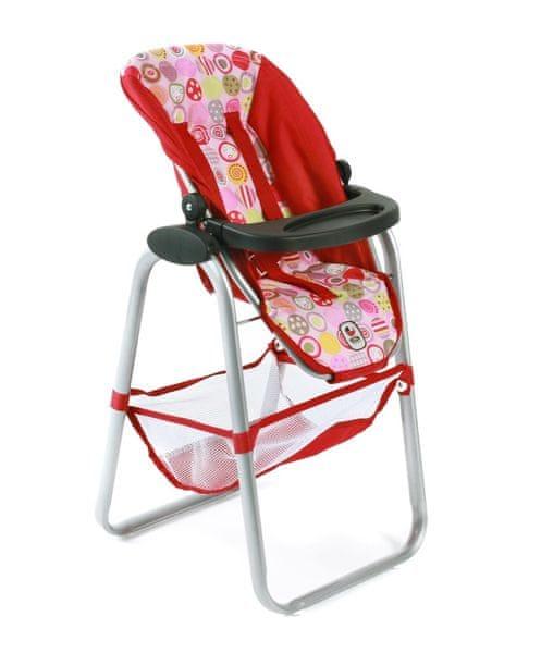 Bayer Chic Jídelní židlička pro panenku, 10