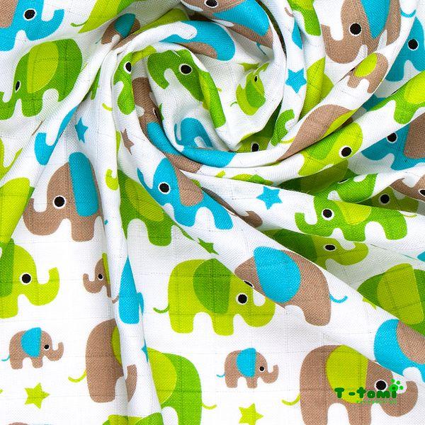 T-tomi Bambusová zavinovačka, Zelení sloni