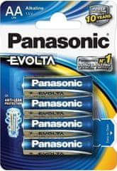 PANASONIC AA EVOLTA Elem (LR6EGE/4BP) 4db