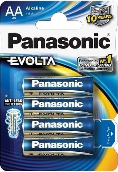 Panasonic AA 4ks EVOLTA (LR6EGE/4BP)