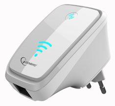 Gembird ETH WiFi repeater bílý (WNP-RP-002-W)