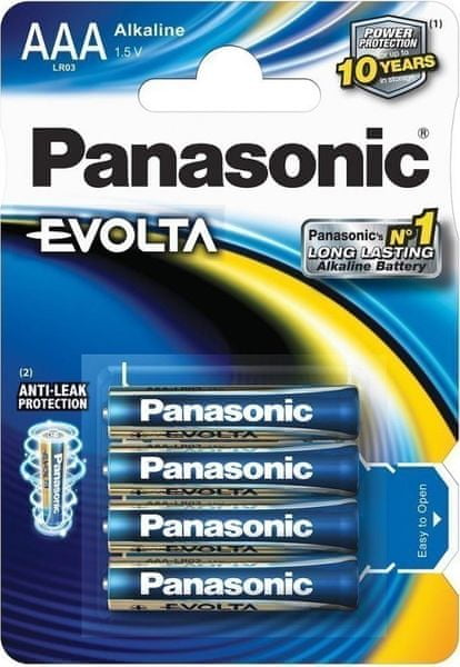 Panasonic AAA 4ks EVOLTA (LR03EGE/4BP)