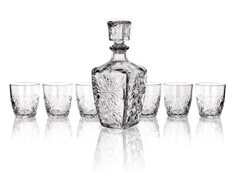 Banquet 7 dílná sada na whisky