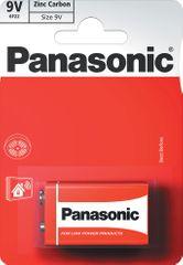 Panasonic 9V 1ks Red Zinc (6F22RZ/1BP)