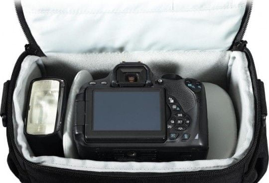 Lowepro torbica za fotoaparat Adventura SH 160 II, črna - Odprta embalaža