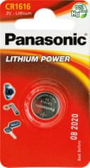 Panasonic Baterija Panasonic CR 1616 3V Lithium