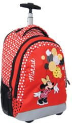 Disney ovalni nahrbtnik Trolley Minnie Lost in dots