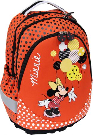 Disney ergonomic nahrbtnik Minnie Lost in dots