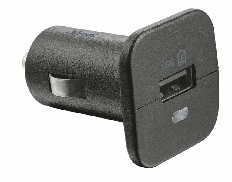Trust Car Charger with USB port - 12W (19165)
