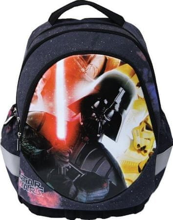 Star Wars Ergonomski ruksak Darth Vader, crno-žut