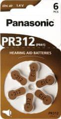 Panasonic PR312 HEARING AID (PR312(41)/6LB), 6ks