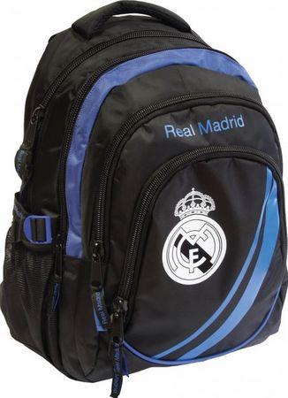 FC Real Madrid ovalni nahrbtnik Real Madrid, črno-moder