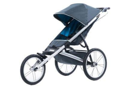 Thule otroški voziček Glide1, temno siv