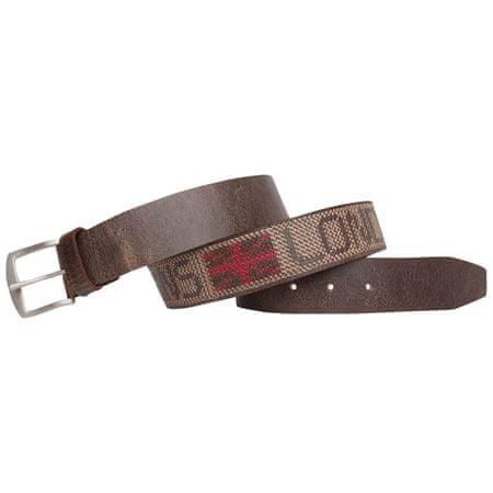 Pepe Jeans kožený pánský pásek Wildway 90 hnědá  3a724e48d7