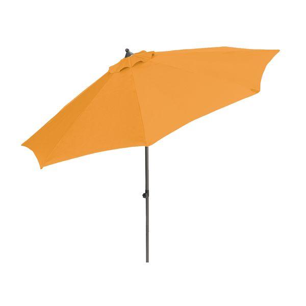 Myard Venice - středový slunečník 2,7 m, oranžový